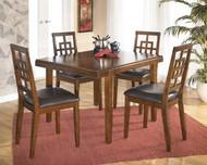 Cimeran Medium Brown Rectangular Dining Room Table Set
