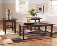Lewis Medium Brown Occasional Table Set