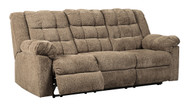 Workhorse Cocoa Reclining Sofa