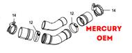 NEW Mercury Mercruiser Quicksilver 54-893342 Clamp