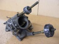 Evinrude Johnson Carburetor 1950's Vintage Carb Knob & Glass Yoke Bowl 0376404