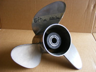 Johnson Evin 90 to 200-225-250 Viper 176902 Propeller SS LH Counter 14-3/4 x 21