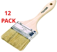 """12 Seachoice Double Wide Chip BRUSH 3"""" for fiberglass-resins-adhesive Boat"""