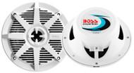 """Boss Audio MR52W Marine Speakers 2 Way 5.25"""" PAIR 150W White LC"""