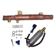 Mercruiser 3.7-4.3-5.0-5.7-7.4-8.2 V6-V8 Fuel Pump Kit w/Cooler Repl: 861156A02