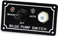 Boater Sports 3-Way Bilge Pump Switch On/Off/Auto Positions 57444 Marine MD
