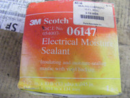 "3 Roll 3M Scotch 6147 Electrical Moisture Sealant 2 1/2"" x 10' Sealing Compound"