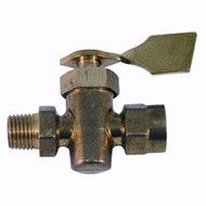 Marpac  Brass Shut-Off Valve 2W 1/4ML x 1/4FM Marine 033300-10  MD