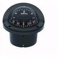 Ritchie Helmsma Compass HF-743 CombiDamp Dial Flush Mount Traditional Black MD