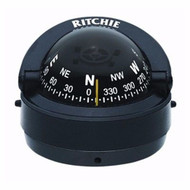 Ritchie Explorer Compass S-53 Surface Mount Traditional Black MD