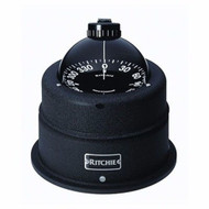 "Ritchie Globemaster Shock-Mounted Binnacle Compass C-463 6"" Dial Base 9-1/2"" MD"