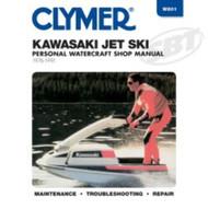 Kawasaki 440, 550 & 650 Jet Ski Clymers Shop Manual W801 1976-91 85-801 SBT