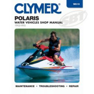 Polaris 1992-95 650-750cc Water PWC Shop Manual W819 Jet Ski Clymers SBT 85-819