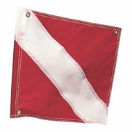 Kwik Tek Dive Down Flag 20-Inches x 24-Inches F-2024 MD