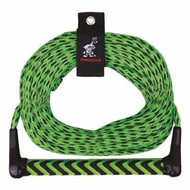 """AIRHEAD Water Ski Rope with 12"""" aluminum core handle 75' AHSR-9 MD"""