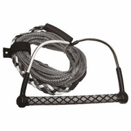 "Boater Sports Wakeboard Rope color Gray/Black/White 3/8"" x 65‰Ûª 52543 MD"