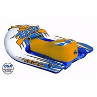 Airhead EZ Ski Inflatable Single Rider Towable Water Ski Hybrid AHEZ-100 MD