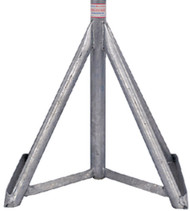 """Brownell Boat Stand Galvanized Motorboard Stand Base Only 41-58"""" MB0GBASE LC"""