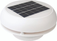 "Afi/Marinco N20803W Day-Night Solar Vent 3"" White Electric LC"