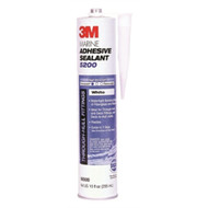 3M Adhesive 06500 Sealant 5200 WHITE Cartridge 10 Oz Boat Marine MD