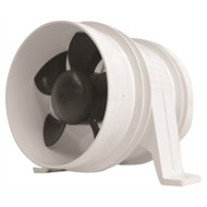 """Attwood 1749-4 Turbo In Line Blowers 4"""" White Water Resistant 12 volt  MD"""