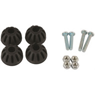 Attwood SP-410 Replacement Rubber Pads for Pro-Adjustable Head Transom Savers MD