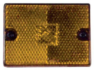 Anderson Clearance Sidemark Light/Reflect/Amber Stud Mount E114A Boat Trailer LC
