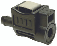"""Honda BF5-BF8A Up to 2001 Fuel 1/4"""" Connector 17650-921-003ZB Seachoice 20441 LC"""