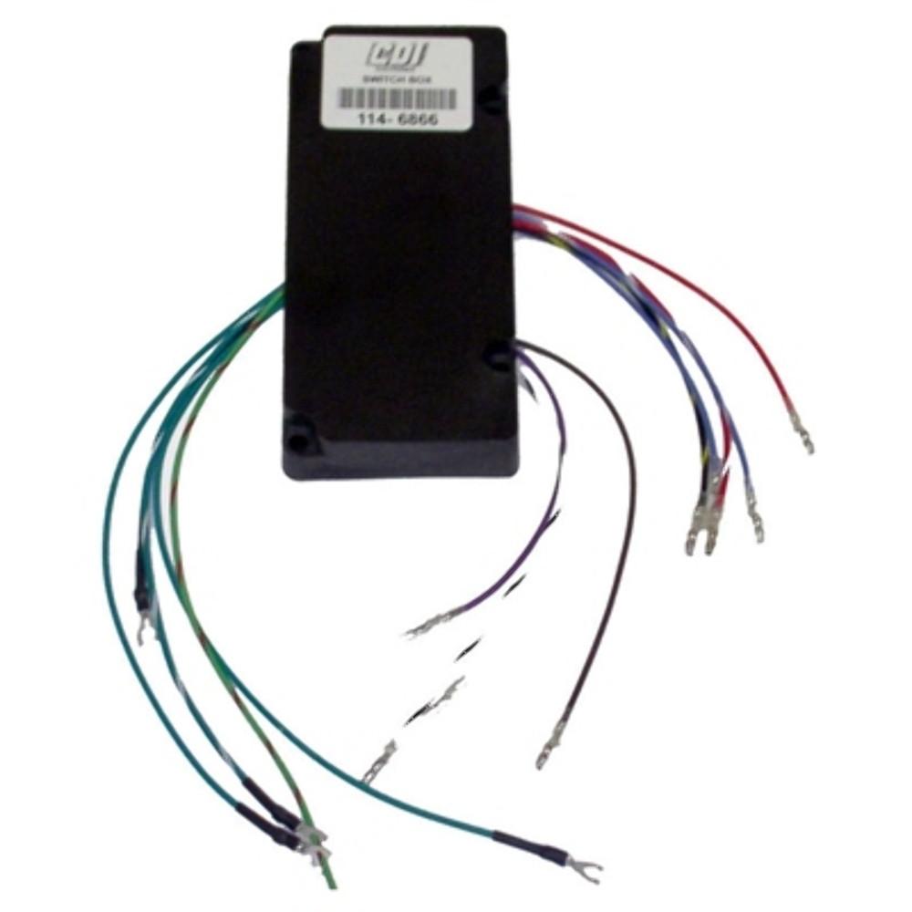 CDI 114-6866 SportJet 120 Mercury Switch Box 4Cyl 332-826866A2 MD