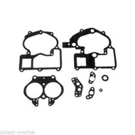 Mercruiser OEM Gasket Set-Carburetor Repair Kit MerCarb 2bbl 3310-810929004 LC