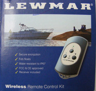 Lewmar 3-Button Windlass Wireless Remote Switch Kit waterproof 68000967 MD
