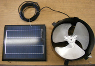 Attic Fan-Solar panel 15W ALL Purpose UNIVERSAL Ventilator 1015APV  US SUNLIGHT