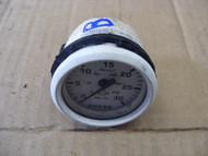 "Faria Instrument Water Pressure Gauge White 2"" Boat Press Meter 0~30 PSI"
