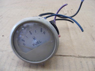 """Faria Instrument Outboard Fuel Gauge White Boat Meter 2"""""""