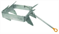 Fold & Hold BABY Anchor Box 18x7x5 Galvanized COMPACT for PWC & Boat 18' MAX LC