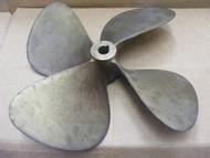 Michigan Wheel 20 x 21 Bronze Propeller 4-Blades LH Taper Shaft Bore 1-1/4x1