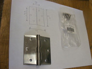 Hinge 3 x 3 Stainless Steel Square Corner Mortise Full SS Marine Door