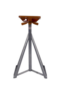 """Brownell Boat Stands Galvanized Motor Boat Stand Flat Top 33-50"""" MB1GALV LC"""