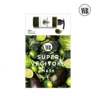 Wonder Bath 排毒蔬果面膜 Super Vegitoks Mask(一盒6片)