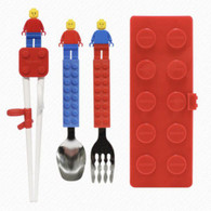 [OXFORD] BLOCK CHOPSTICKS CASE SET (RED)