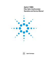 11980A Fiber Optic Interferometer, Operation and Service Manual | HP Agilent Keysight
