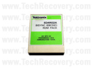 Tektronix 834R02A BiSync (EBCDIC) ROM Pack