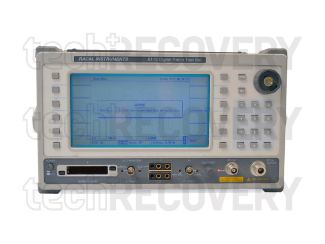 6113 Digital Radio Test Set, Options 03,51,54 | Racal