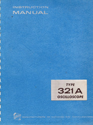 321A Oscilloscope, Instruction Manual | Tektronix