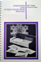 7550A Graphics Plotter Manual   HP Agilent Keysight