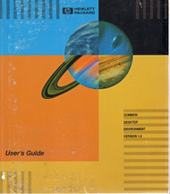 CDE 1.0 Common Desktop, User's Guide | HP