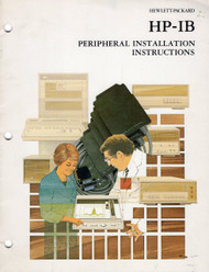 82937A HP-IB Peripheral Installation Instructions | HP