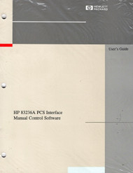 83236A PCS Interface, User's Manual | HP