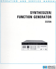 3325A Synthesizer/Function Generator, Operating and Service Manual | HP