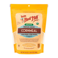 Organic Medium Cornmeal 4/24oz